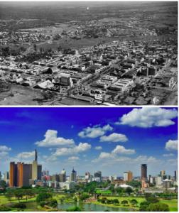 Nairobi in the 1960s vs Present day